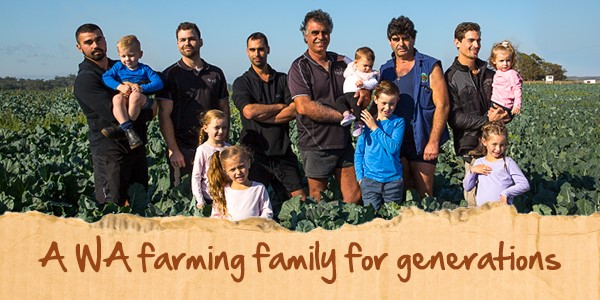 Wa farming family mobile