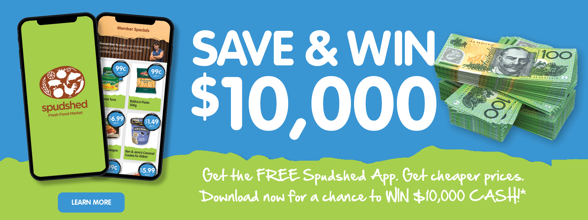 Get the Free Spudshed App and Win